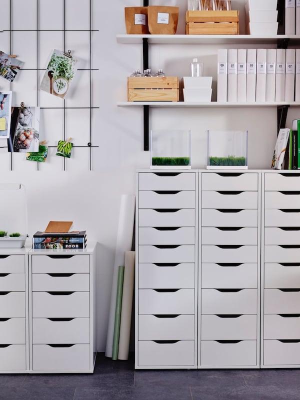 Caissons à tiroirs pour bureaux