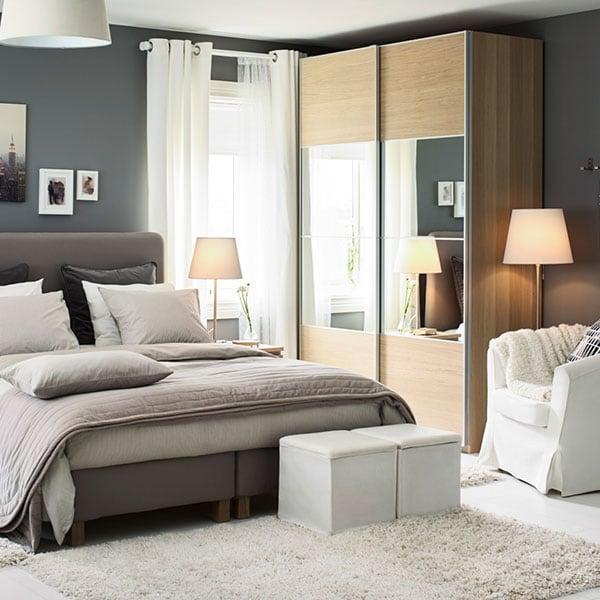 Lo Stile Della Camera Da Letto E Le Idee Per L Arredamento Di Ikea Ikea Svizzera