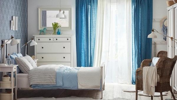 Camere Bianche E Grigie : Camere da letto per sognare a occhi aperti ikea