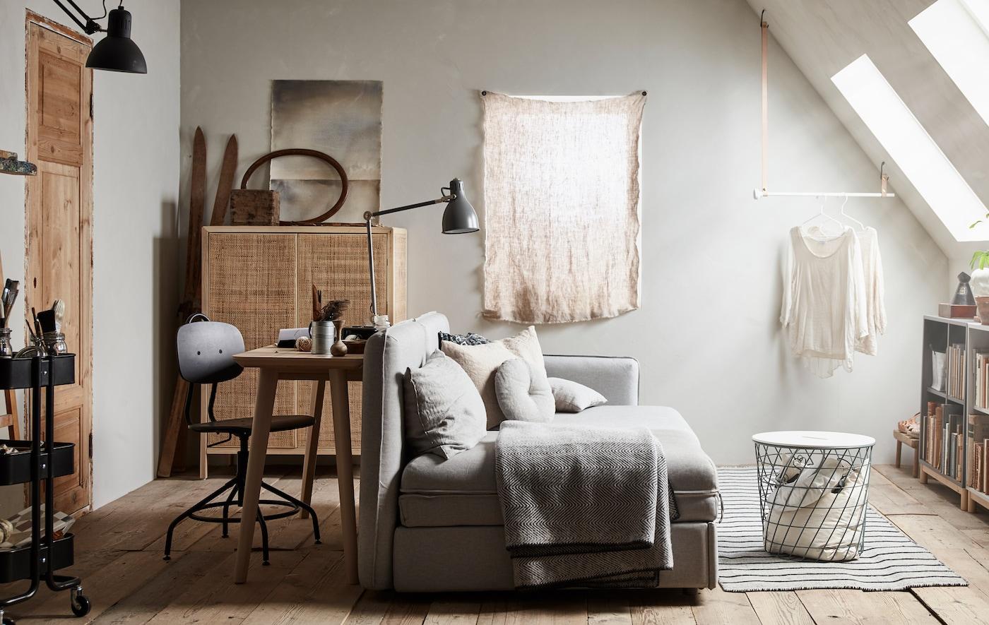 Camera per gli ospiti, ufficio, zona relax: tutto in uno