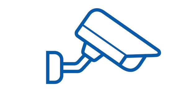 Camera security icon