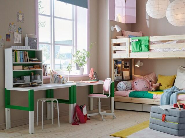 Ikea Letti A Castello Cameretta.Lasciati Ispirare Dalle Nostre Camerette Ikea