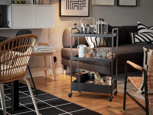 carritos auxiliares baratos IKEA