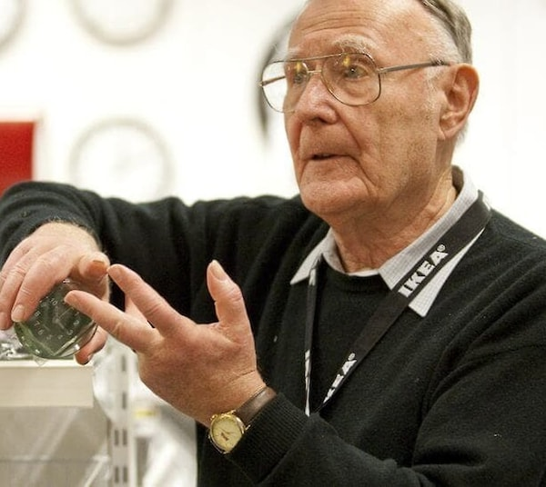 Carta del fundador de IKEA