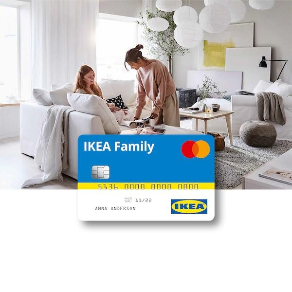 Carta di credito IKEA Family