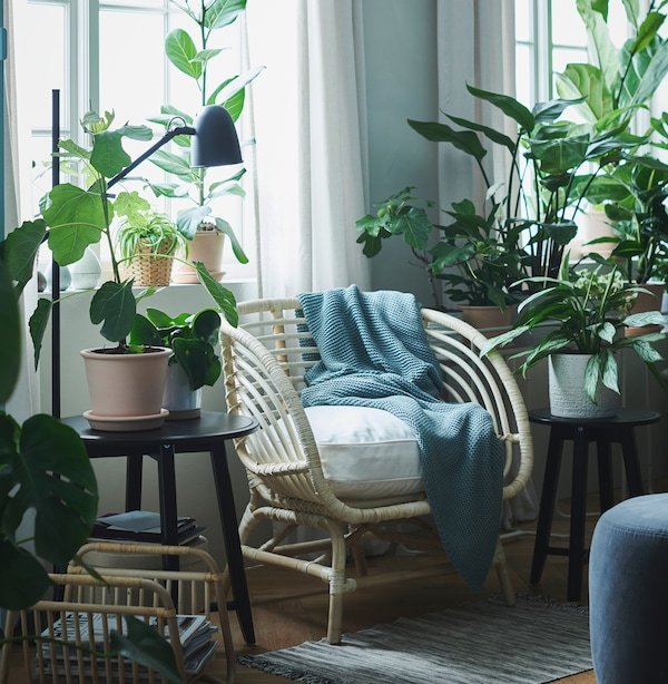 Carve out a feel-good spot at home.