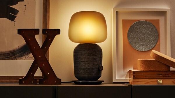 Cassa Wi-Fi con lampada - SYMFONSIK - IKEA