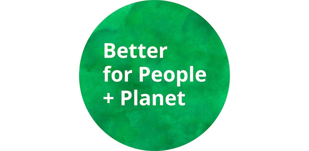 Link to Better for People + Planet Product Guide