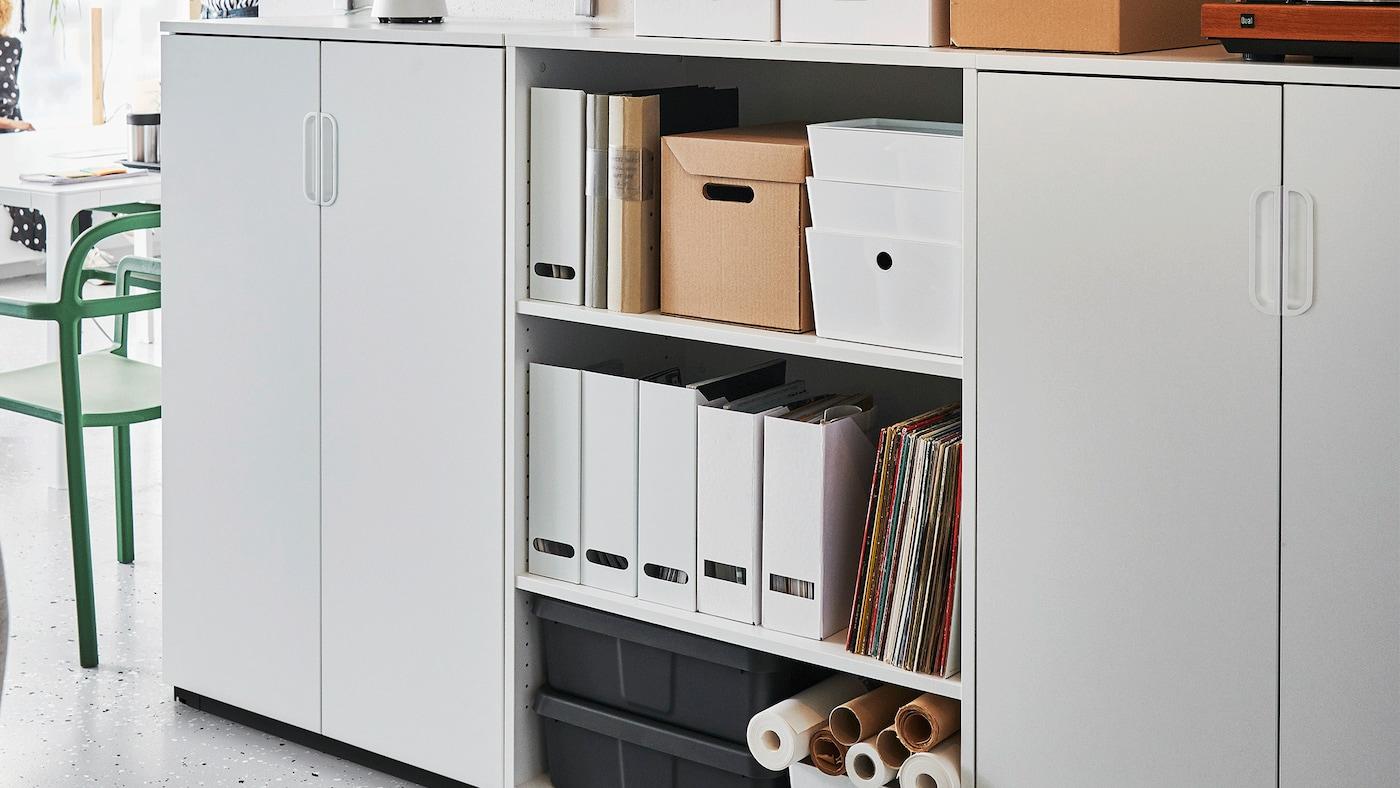 Módulos de arrumação e armários