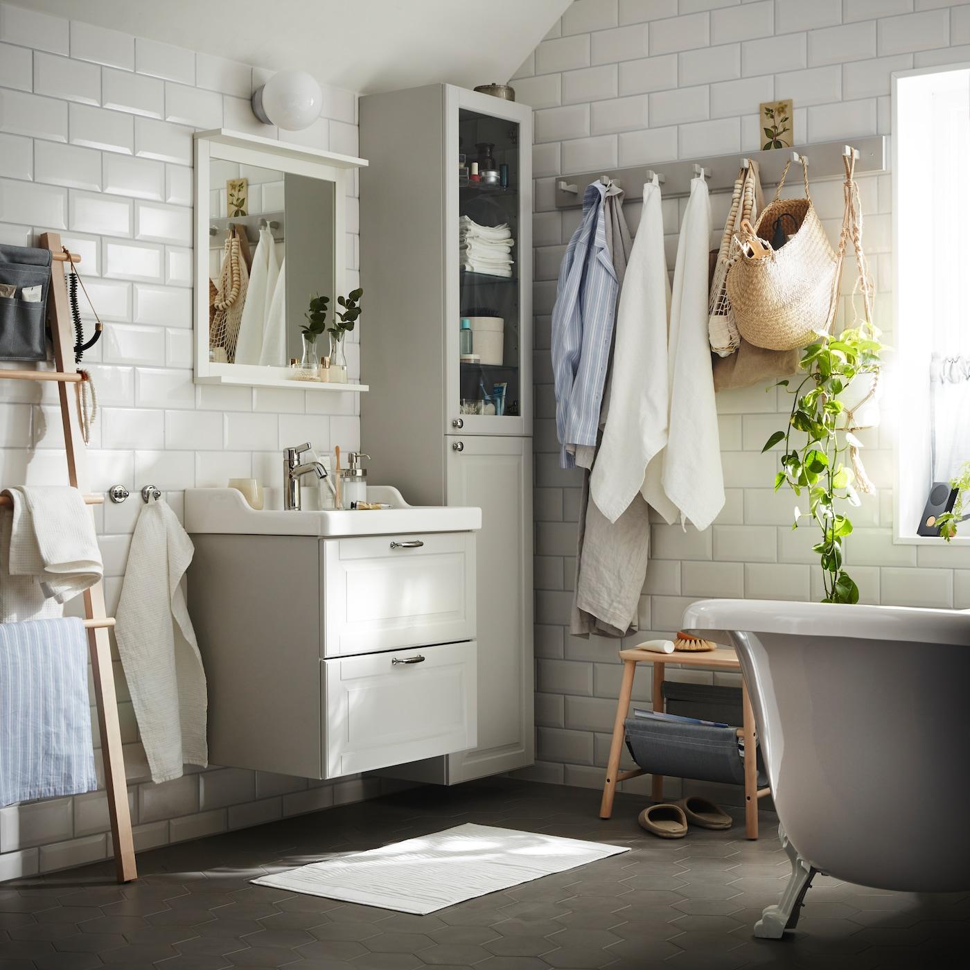 Badrum Inspirerande & funktionell badrumsinredning IKEA