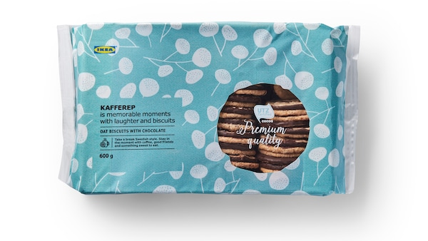 KAFFEREP Oat biscuits with chocolate/UTZ certified, 600 g  3 for 2
