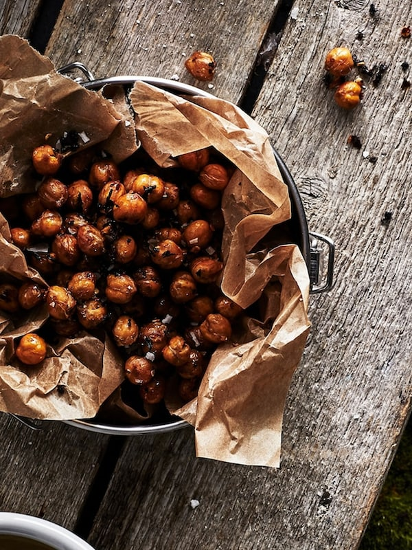 Chai and chilli toasted chickpeas