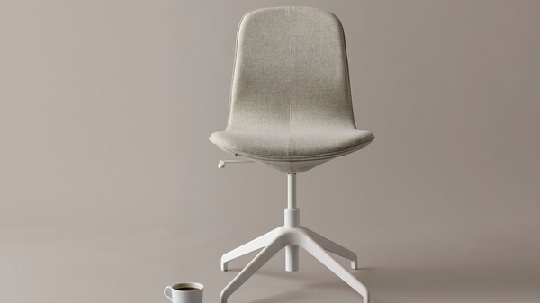 chaise-beige-LÅNGFJÄLL