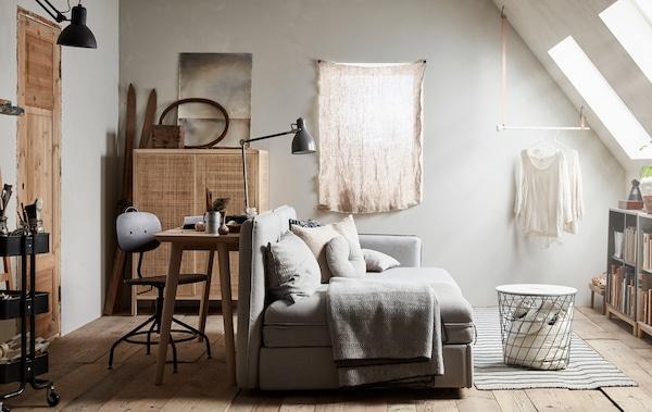 Chambre d\'amis? Bureau? Espace détente? Oui, oui et oui. - IKEA