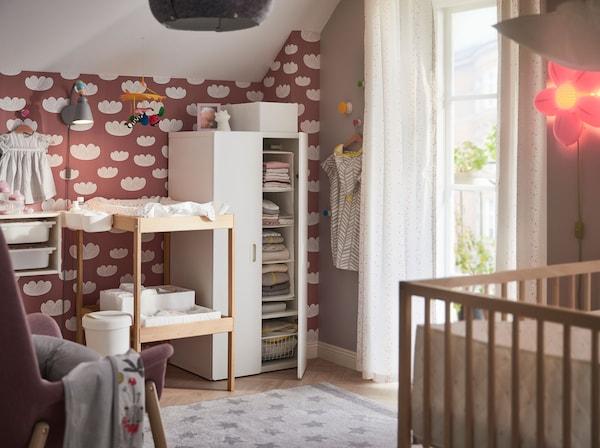 Rangement pour la chambre de nos petits trésors - IKEA