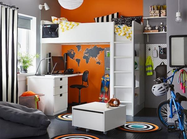 Petite chambre pour rêver en grand - IKEA
