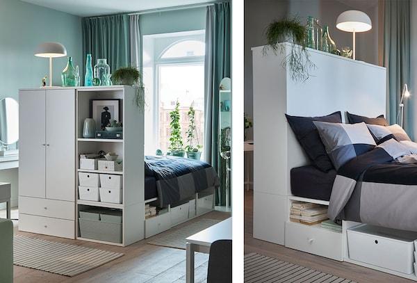 Chambre : Lit IKEA