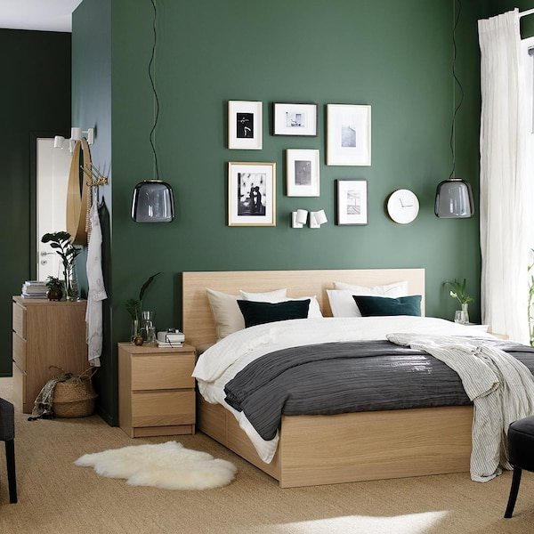 Chambre : MALM Notre collection, style moderne scandinave IKEA