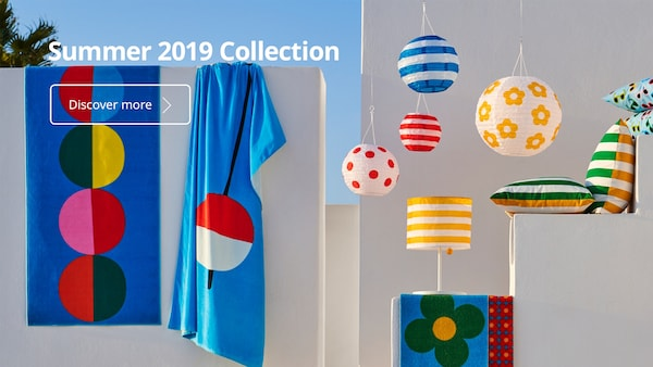 Check out the SUMMER Collection 2019 at IKEA Home Furnishings!