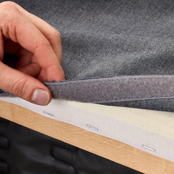 Чехол на диван серый 1