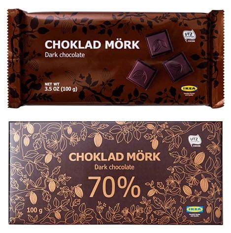 CHOKLAD MÖRK chocoladereep ikea