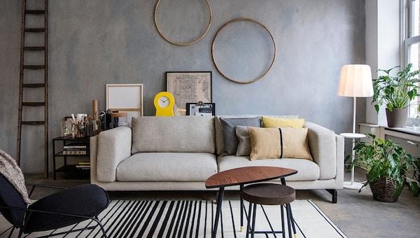 Choose the right sofa — NOCKEBY sofa — IKEA interior inspiration