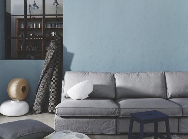 Choosing a paint colour — living room — IKEA interior inspiration