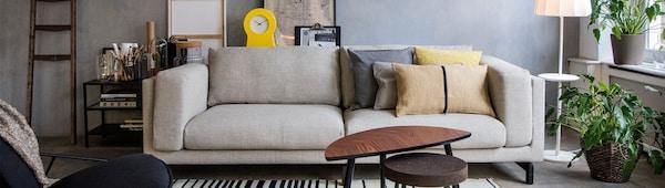 Choosing the right sofa — NOCKEBY sofa — IKEA interior inspiration
