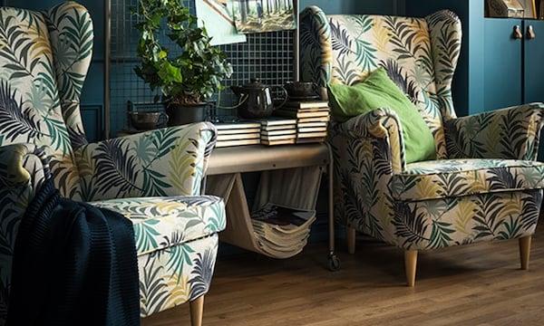 Choosing the right sofa — STRANDMON armchair — IKEA interior inspiration