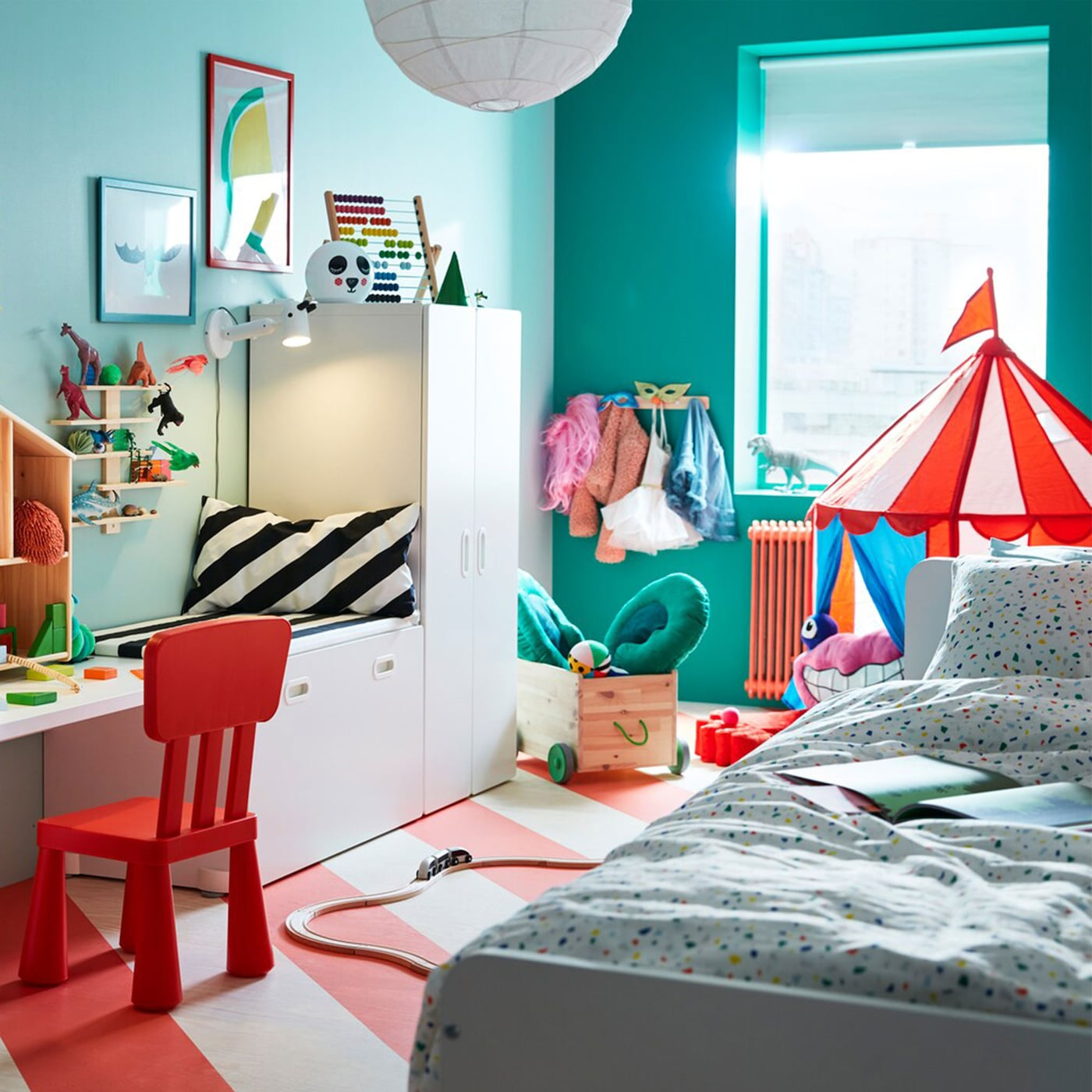 Playroom paradise for two children - IKEA