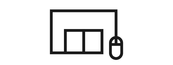 click & collect symbol