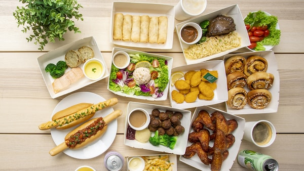 Click and Dabao your favourite Swedish meals in all IKEA stores!