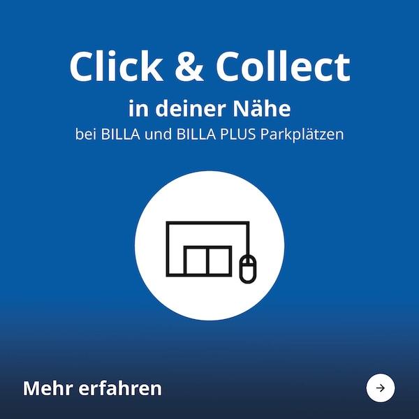 Click und Collect in deiner Nähe bei BILLA und BILLA PLUS Parkplätzen