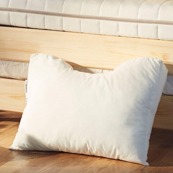 Close up of an ergonomic pillow .