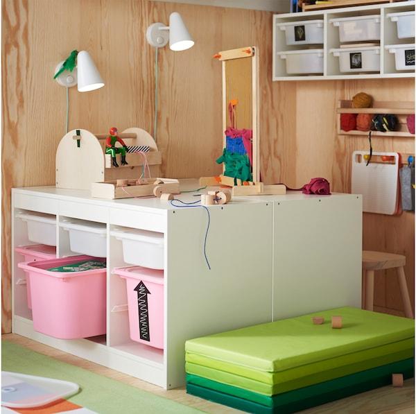 Verwonderend Slimme opbergers voor kinderen in de slaapkamer - IKEA EL-31