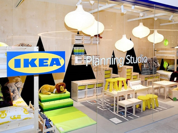 Close-up view of IKEA Planning Studio Sindorim