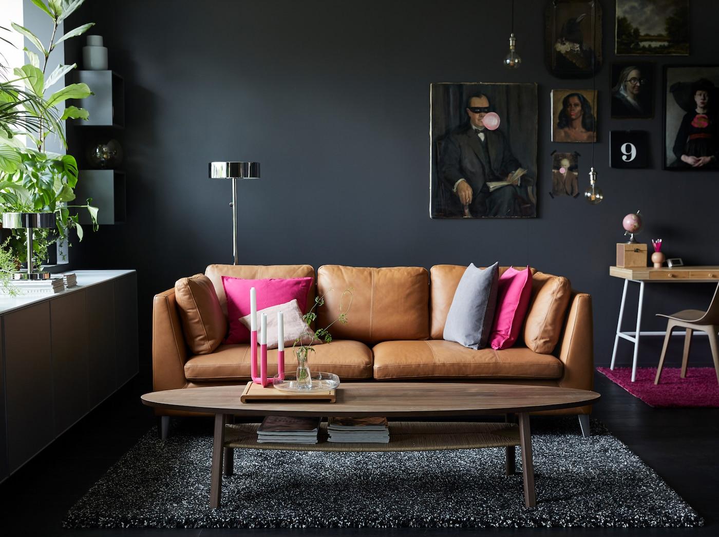 Leren Bank Modern Wit.Living Room Ideas Home Furnishing Ikea Ikea