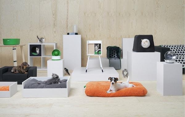 colección para mascotas llega a IKEA