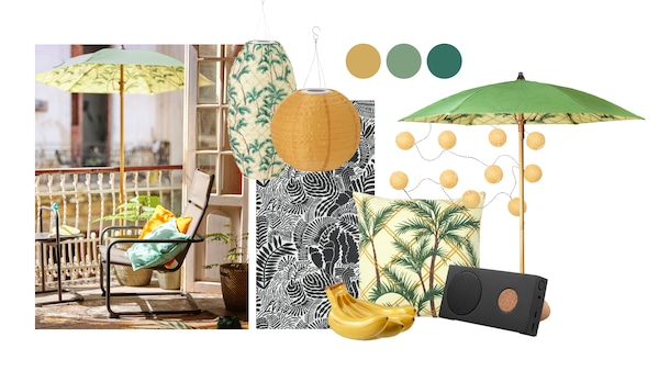 Collage of different IKEA products