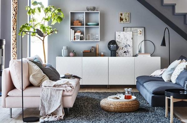 meubles de salon canap s divans sofas sectionnels ikea. Black Bedroom Furniture Sets. Home Design Ideas
