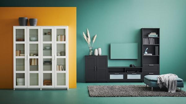 Collection de meubles de salon BRIMNES.