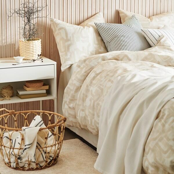 Colori neutri in camera da letto - IKEA