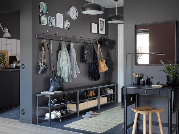 Une Entrée Propre Et Compacte Ikea