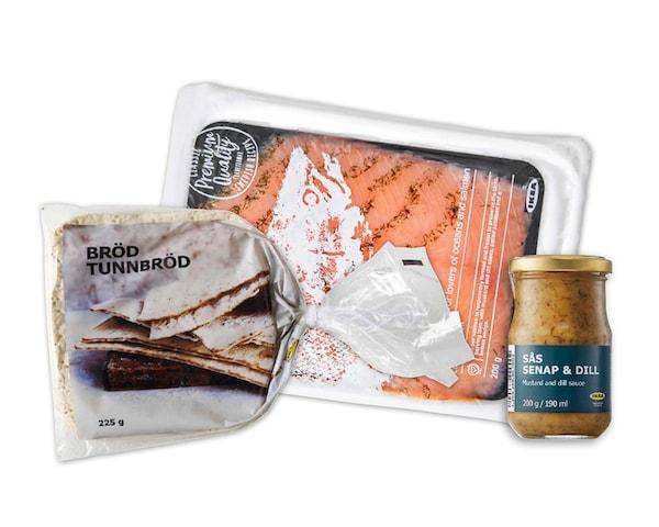 Combo de rollitos de salmón