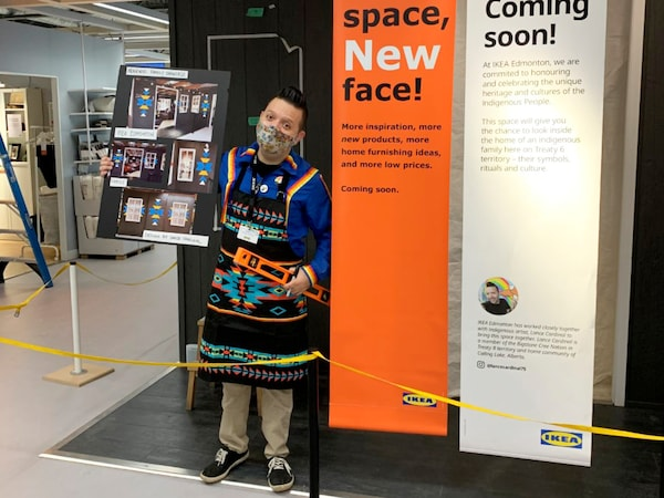 Coming Soon - IKEA Edmonton creates Indigenous Room Setting