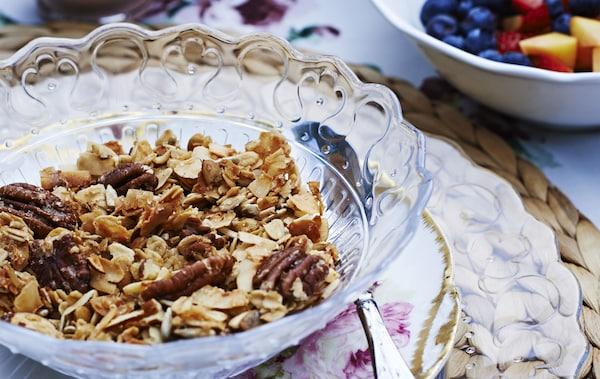 Commencez la journée avec un savoureux granola maison