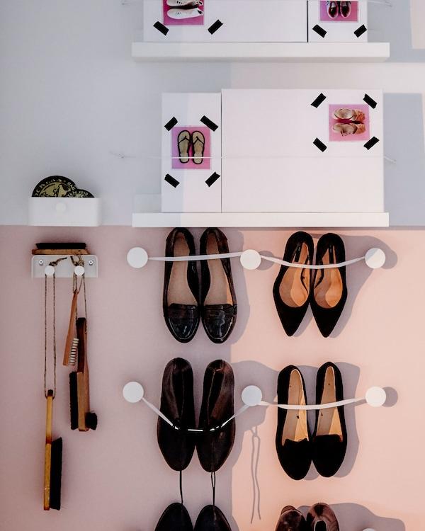Cómo almacenar los zapatos de verano