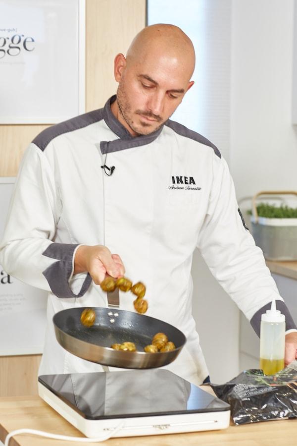como cocinar albóndigas de verduras