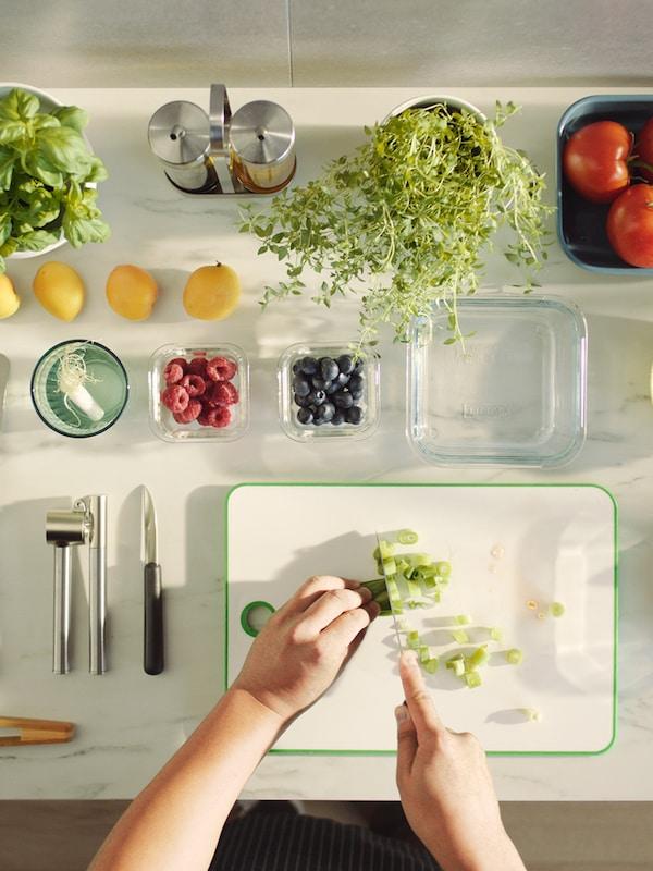 Como comer de maneira máis sostible.