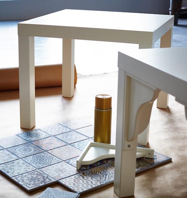 Cómo customizar la mesa LACK